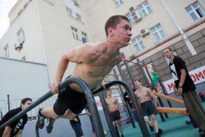 """Упражнения разработаны специально для граждан с разным уровнем физической подготовки.. Фото: """"Вечерняя Москва"""""""