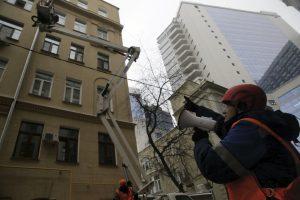 Кровли в центре Москвы демонтируют . Фото: архив, «Вечерняя Москва»