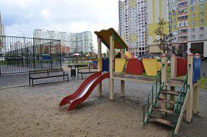 Четыре новые детские площадки появятся в районе. Фото: Анна Быкова
