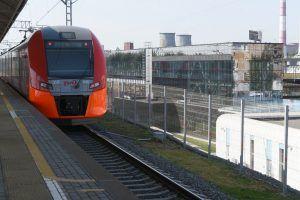 Новая платформа появится летом на станции Каланчевская. Фото: Владимир Новиков, «Вечерняя Москва»