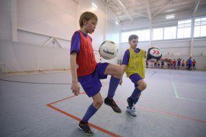 Несколько команд «Сокол» сыграли со сборной «Чертаново-2». Фото: Антон Гердо, «Вечерняя Москва»