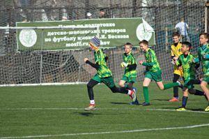 Футбольный матч прошел у сборной спортивной школы №27. Фото: Анна Быкова