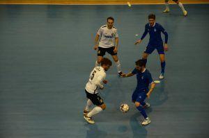Команда спортивной школы «Сокол» провела футбольный матч. Фото: Анна Быкова