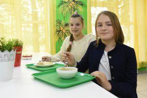 ВЦИОМ: Большинство москвичей удовлетворены качеством питания в школах. Фото: архив, «Вечерняя Москва»