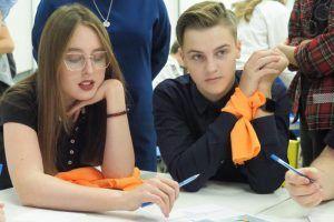 День студенчества отметили в колледже транспорта. Фото: Павел Волков, «Вечерняя Москва»