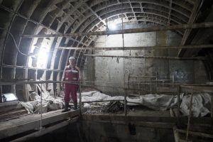 Новый вестибюль станции «Каланчевская» построят под железнодорожным путепроводом. Фото: Антон Гердо, «Вечерняя Москва»
