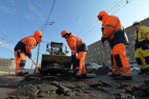 Дороги отремонтировали в районе. Фото: Александр Казаков, «Вечерняя Москва»