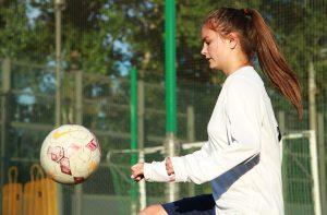 Женская сборная «Сокол» сыграла с командой «Знамя». Фото: Наталия Нечаева, Вечерняя Москва