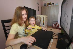 Вебинар о детском кризисе проведет психолог районного семейного центра. Фото: Александр Кожохин, «Вечерняя Москва»