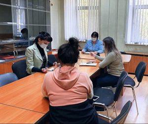 Сотрудники управы района провели координационное совещание. Фото предоставили в пресс-службе управы района