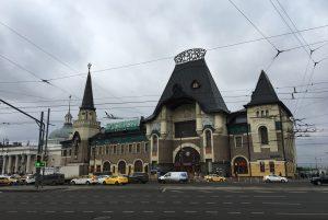 Дезинфекцию Ярославского вокзала провели специалисты. Фото: Анна Быкова
