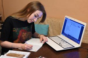 Вебинар о проблемах в учебе состоялся на сайте районного семейного центра. Фото: Алексей Орлов, «Вечерняя Москва»