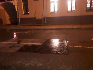 Дорожные работы осуществили в районе. Фото предоставили сотрудники учреждения«Жилищник»