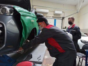 Демонстрационные экзамены по ремонту машин завершатся в колледже транспорта. Фото взято с сайта колледжа