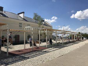 Конструкции для отдыха установят в Даевом переулке. Фото: архив, «Вечерняя Москва»