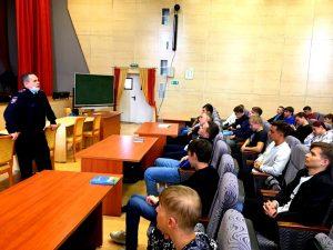 Лекцию о правилах поведениях на железной дороге рассказали студентам колледжа транспорта. Фото взято с сайта колледжа