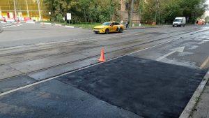 Несколько дорожных работ выполнили специалисты в районе. Фото предоставили сотрудники учреждения «Жилищник»